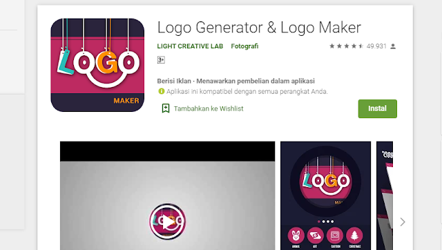 Aplikasi Pembuat Logo Terbaik 1