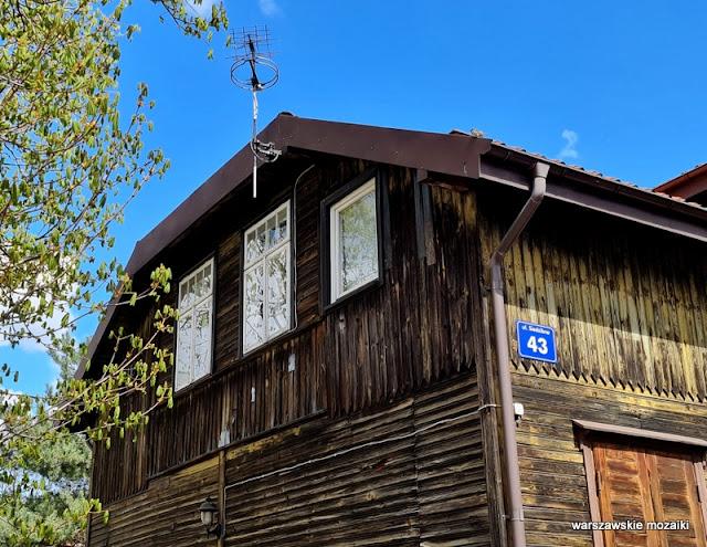 Warszawa Warsaw Targówek drewniak dom drewniany architektura drewniana zabytek  architecture