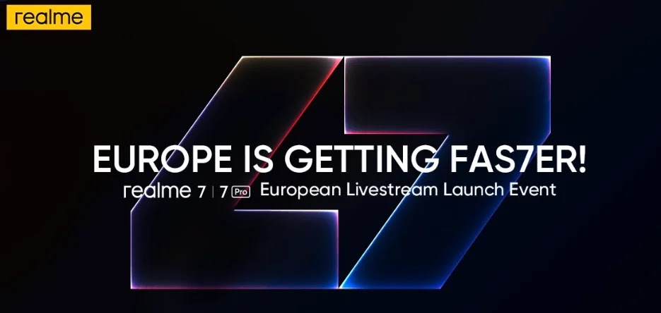 Realme 7 Series  Debut In Europe On October 7