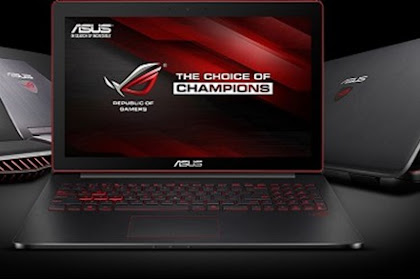 ASUS ROG, Laptop Gaming dengan Spesifikasi Dewa