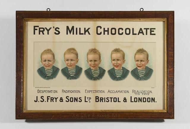 Fry's Milk Chocolate Advertisement