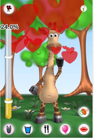 Game Android Anak Talking Gina the Giraffe