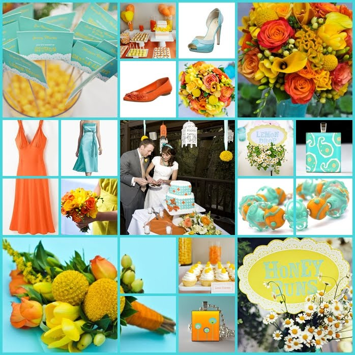 Ring In A Spicy Hot Palette Of Colors That Go With Orange: Love & Cherish: University Of Tennessee Vs. Weddings