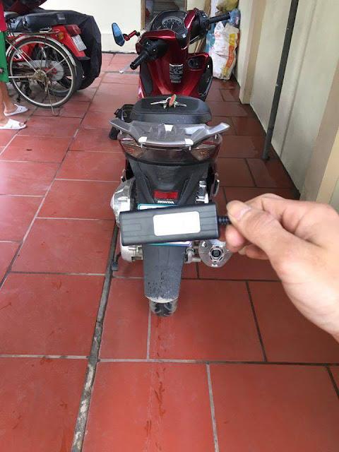 Thiết bị thông minh định vị xe máy