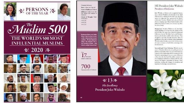Jokowi Muslim Berpengaruh Ke-13 di Dunia karena Dinilai Antikorupsi