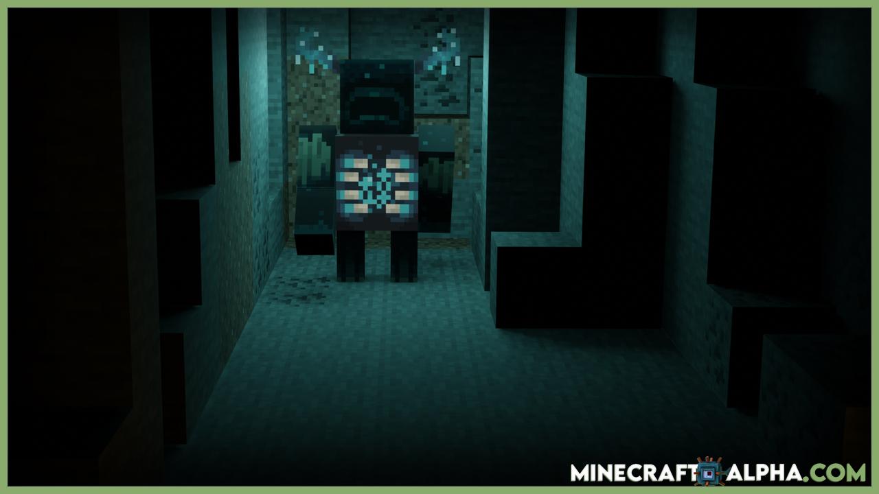 How Find Warden Minecraft Caves Cliffs