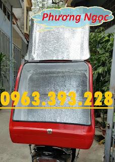 5d41c40e2233c06d9922 Thùng giao hàng sau xe máy, thùng chở hàng cỡ lớn, thùng chở cơm hộp,