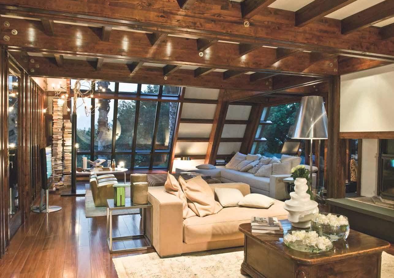 My life style case da sogno in legno for Case da sogno foto interni