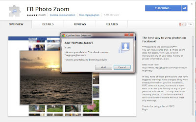click add FB photo zoom to chrome