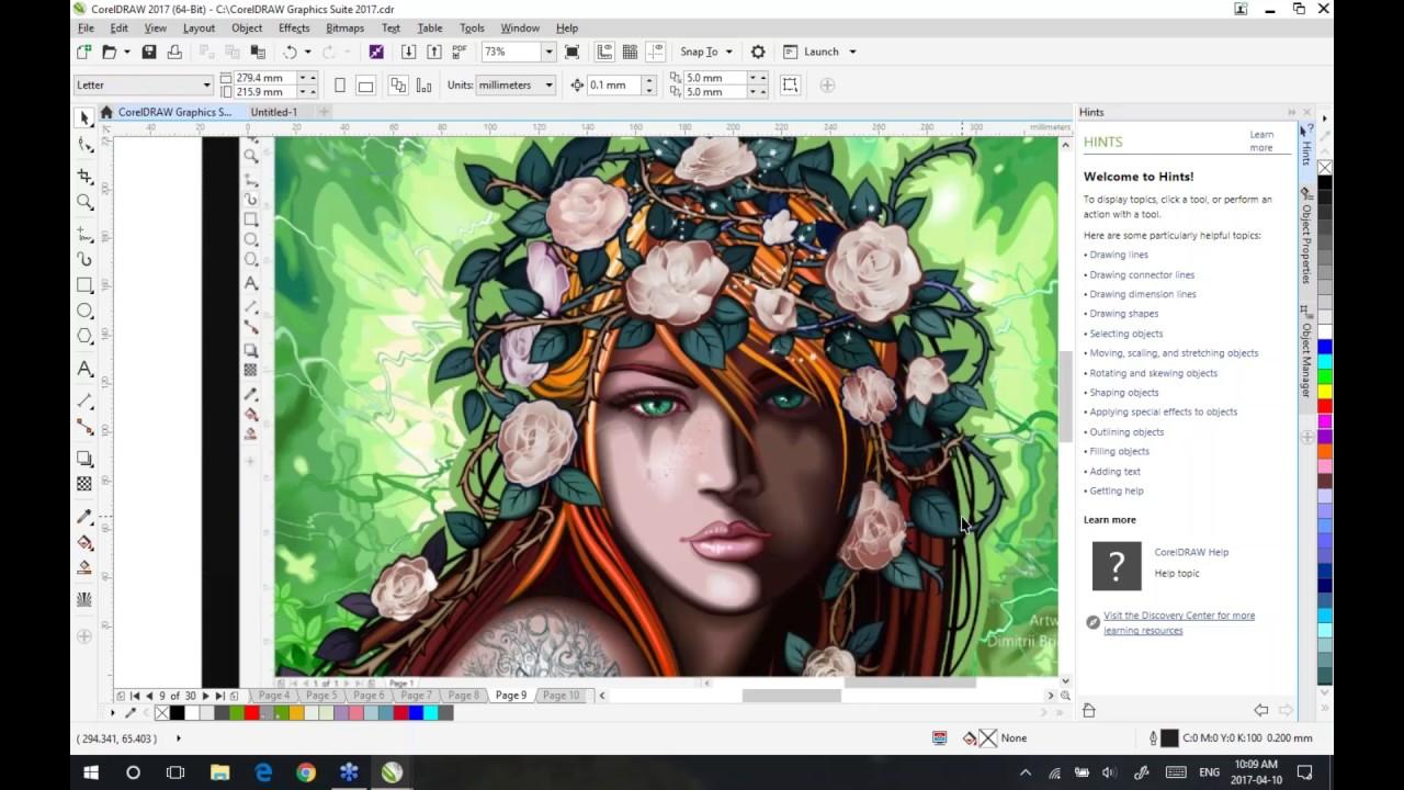 CorelDRAW Graphics Suite 2017 19.0.0.328 (x64/ 64-bit) Full Version