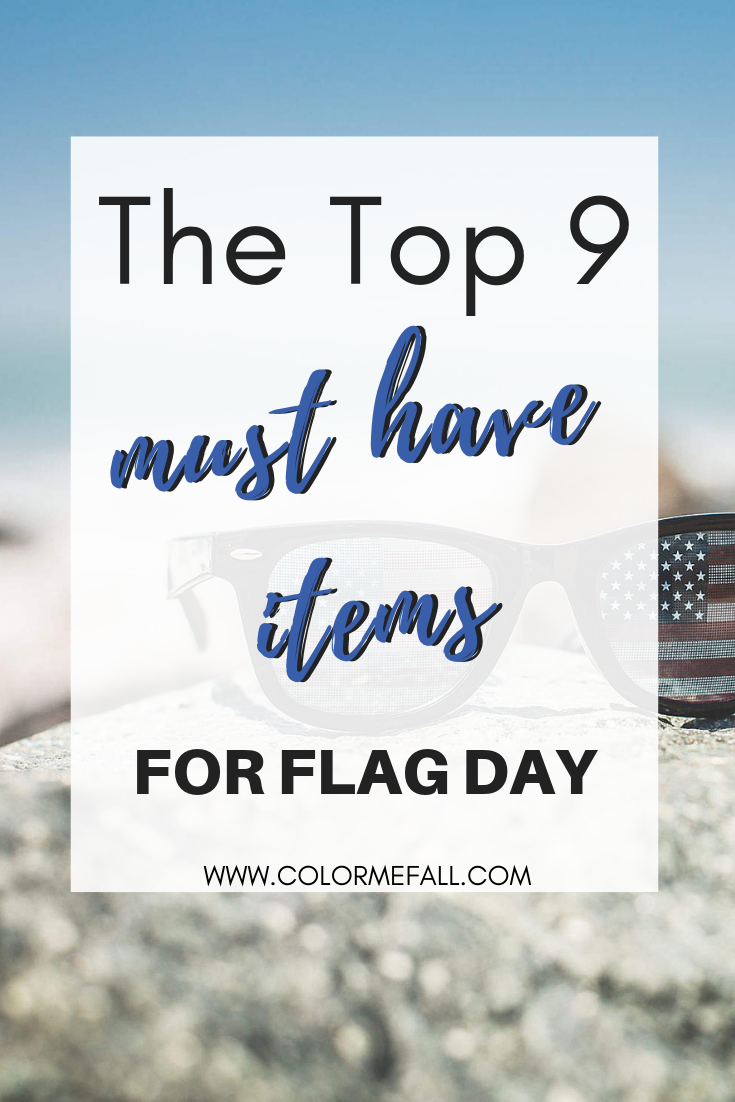 The Top Items for Flag Day 2019