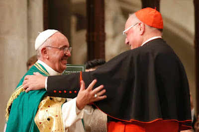 Pope Francis and Dolan