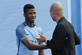 Guardiola drops Iheanacho from Manchester City's US pre-season tour