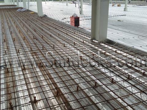 Thi công lắp đặt Sàn Deck