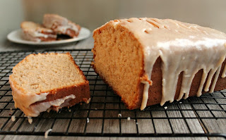 Gingerbread Loaf with Ginger Glaze