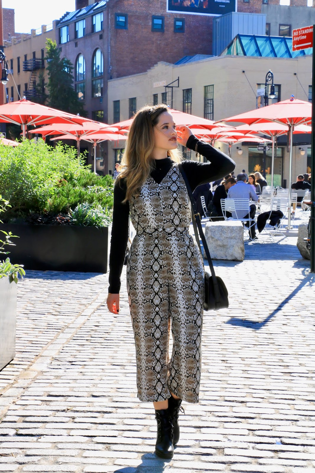 Nyc fashion blogger Kathleen Harper's photo shoot in the Meatpacking District.