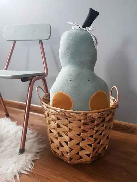 diy, handmade, dla dziewczynki, for kids, pear, bear,bunny,gruszka, krzesełko, miś, uszyte, pokój dziecięcy, dla dziecka, królik, zając, maileg, z materiału