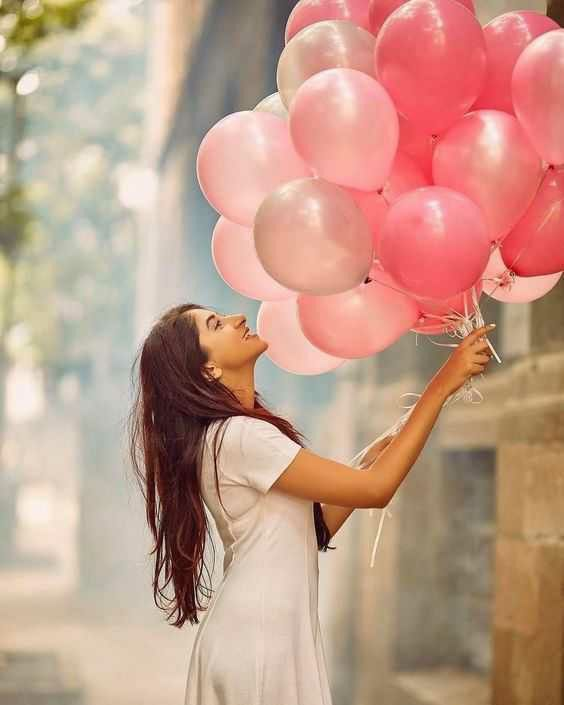 Baloon love girls new profile dp for fb