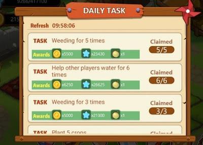 Menyelesaikan Tugas Harian (Daily Taks)