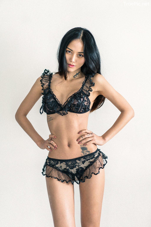 Image Korean Fashion Model – Baek Ye Jin – Sexy Lingerie Collection #3 - TruePic.net - Picture-2