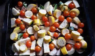 Roasted Vegetables HenSafe Smallholding