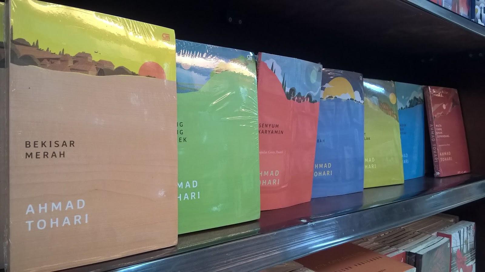 Buku Novel Karya Ahmad Tohari