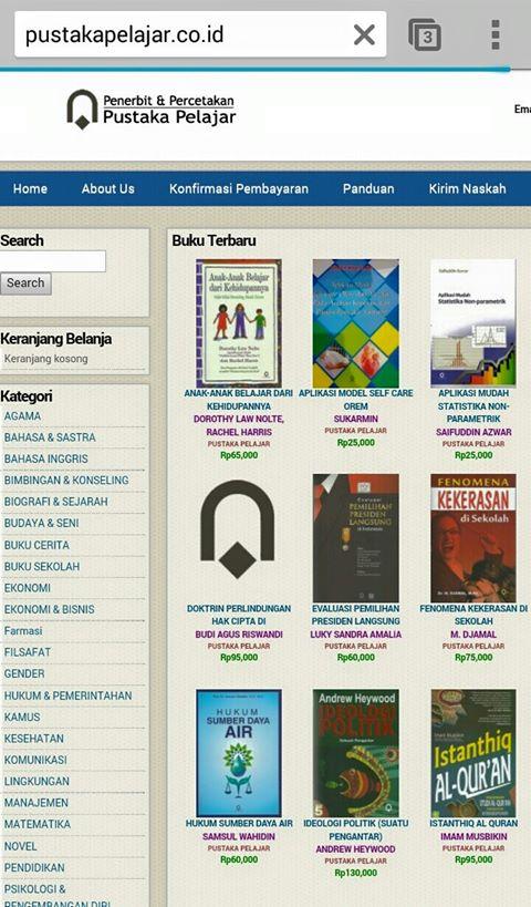 Optimis Bisa Katalog Online Pustaka Pelajar