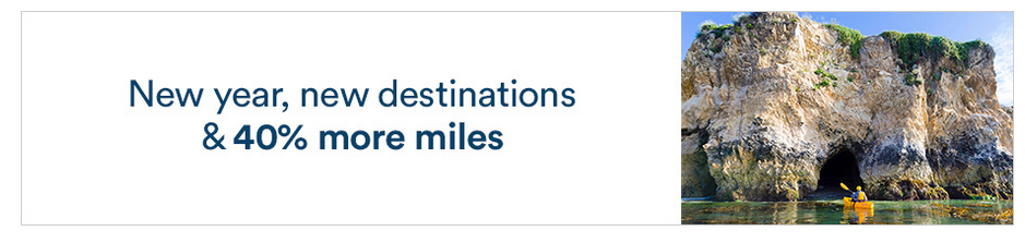 Alaska Airlines Mileage Plan: Receive a 40% bonus when you buy 15,000 or miles by February 16