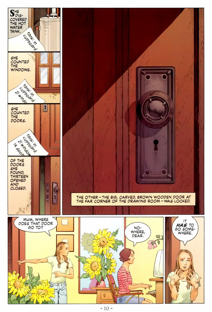 Read page 10, from Nail Gaiman and P. Craig Russell's Coraline graphic novel