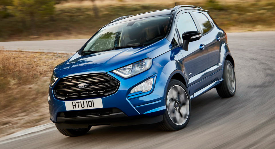 Ford EcoSport updated for 2018 with four-wheel drive