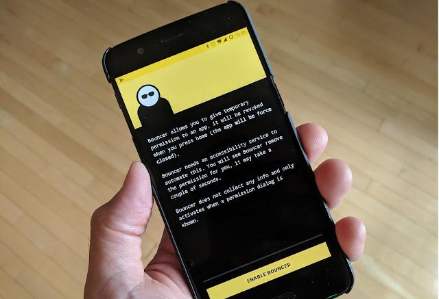 تحميل تطبيق Bouncer - Temporary App Permissions
