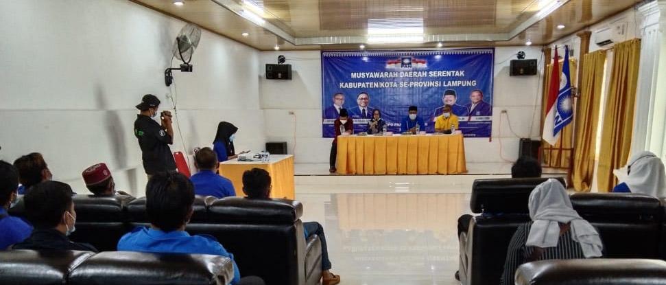 Musda Ke-3 PAN Mesuji , Ketua DPRD Mesuji : Kader PAN Harus Mau Turun Kebawah Bantu Warga