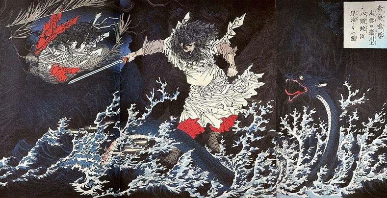 ยามาตะ โนะ โอโรจิ (Yamata no Orochi: 八岐の大蛇)