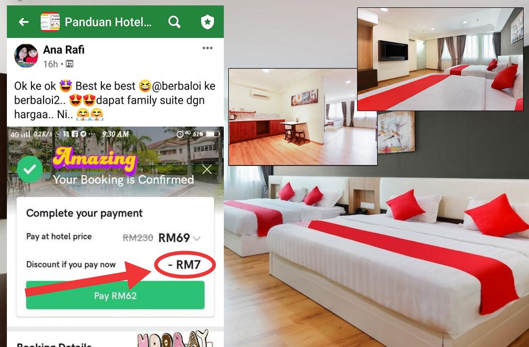 Rahsia Dapat Harga Murah Penginapan Hotel