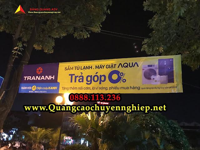 Quy trình treo băng rôn chuyên nghiệp tại Đăng Quang ADV