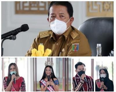 Gubernur Arinal Ajak Duta Wisata Bersinergi Dalam Promosi Pariwisata Lampung