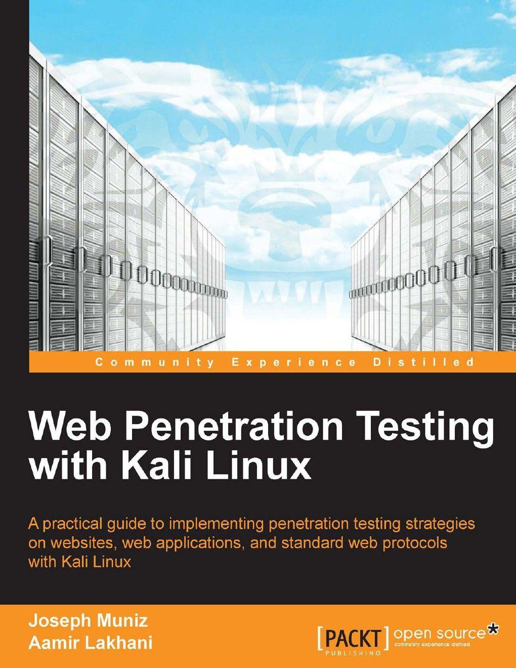Download ebook web penetration testing with kali linux 2013 hacker