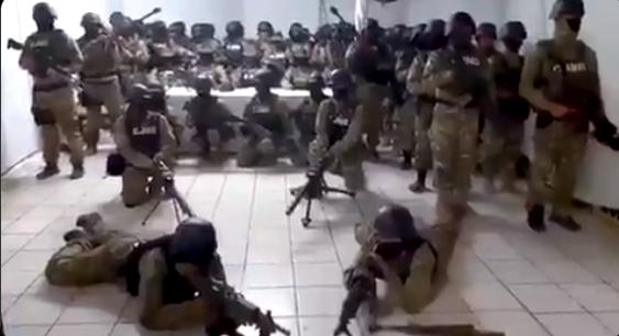 """Video: """"Nosotros no tiramos los dronazos"""", mediante este comunicado el CJNG se deslinda de ataques con drones a Policías en Michoacán"""