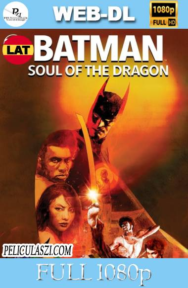 Batman: Alma de Dragon (2021) Full HD WEB-DL 1080p Dual-Latino