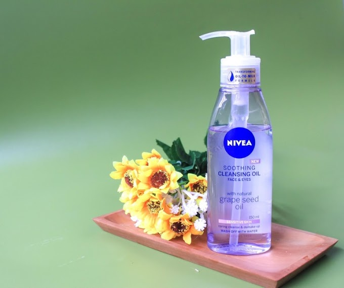 Review: Newest Nivea Shooting Cleansing Oil • Grapeseed Oil