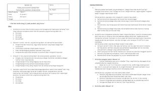 Soal Semester Kelas 6 Tema 7