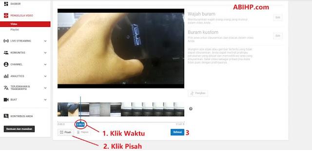 Cara Memisahkan VideoYoutube