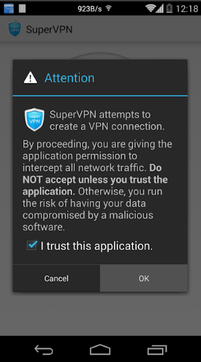 تحميل تطبيق Super VPN سوبر في بي ان