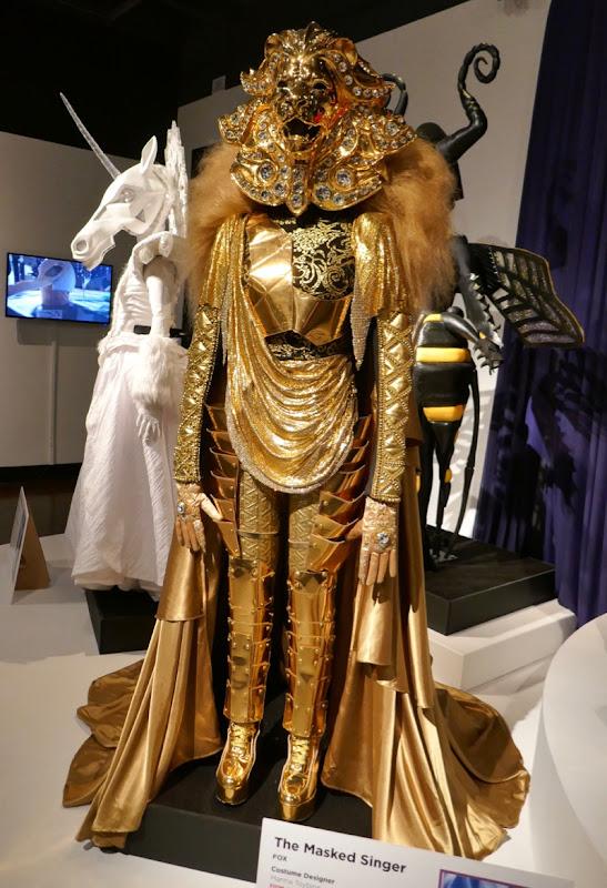 Masked Singer season 1 Lion costume
