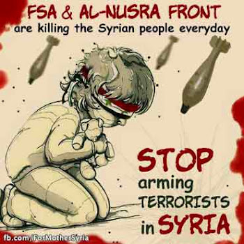 stop arming terrorists in Syria!