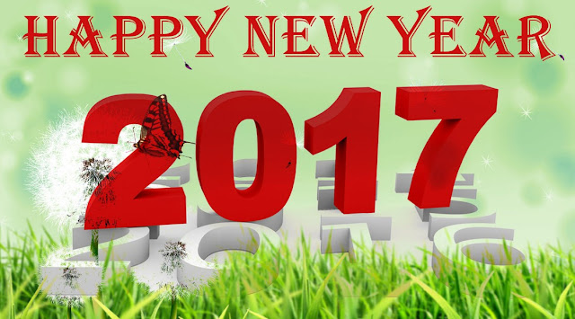 Happy New Year 2017 Wallpaper for Desktop