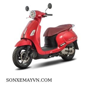 Bán Sơn xe máy SYM màu đỏ