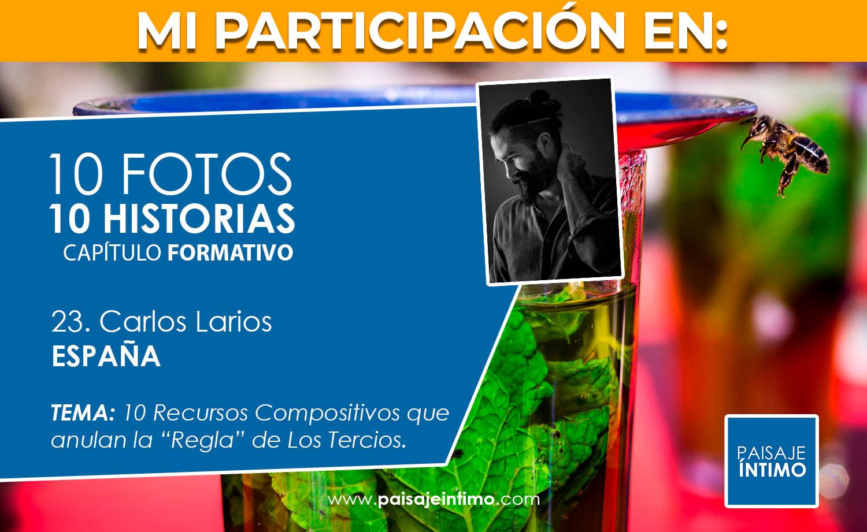 Participación en 10 fotos, 10 historias de 'Paisaje Íntimo'