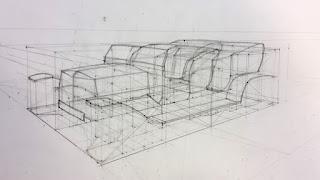 3D design, 3D tekening, game art lessen, ontwerp maken, tekenen 3D design, voertuig, design van Jasper Vos