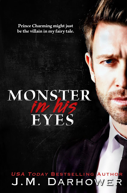 MONSTER IN HIS EYES BOOK COVER